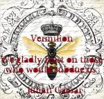 Featured Poetry Book: Vermilion by Julian Caesar